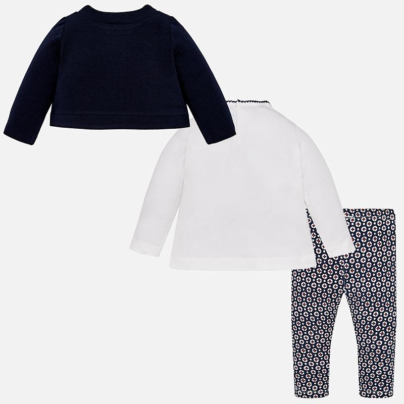 c3fbee2864da MAYORAL Legíny + šaty + sako Marino - BabyMarket