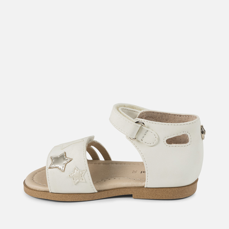 MAYORAL Sandále Stars Cream