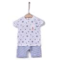 KITIKATE Set tričko + kraťasy Marine Capri