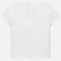 MAYORAL Tričko s krátkym rukávom Blanco
