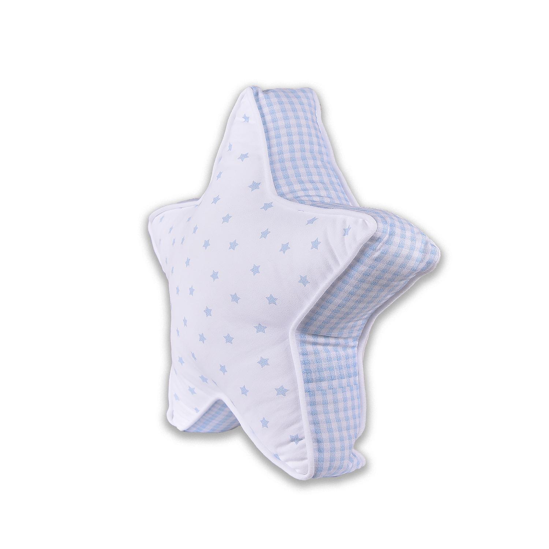 KITIKATE Vankúšik STAR SMALL modrá
