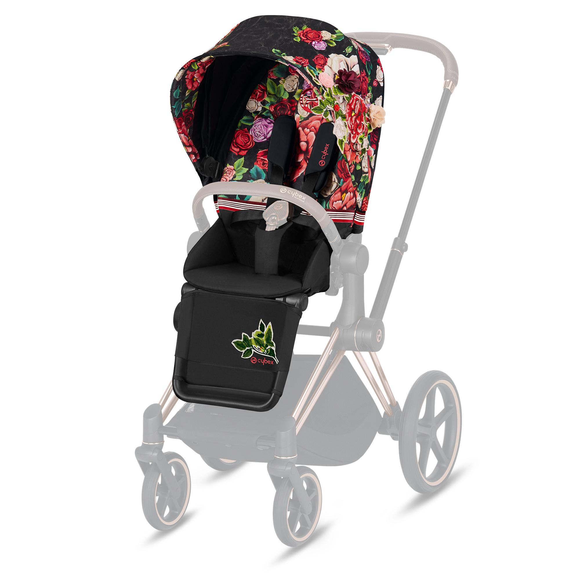 CYBEX PRIAM Spring Blossom Dark - Seat Pack