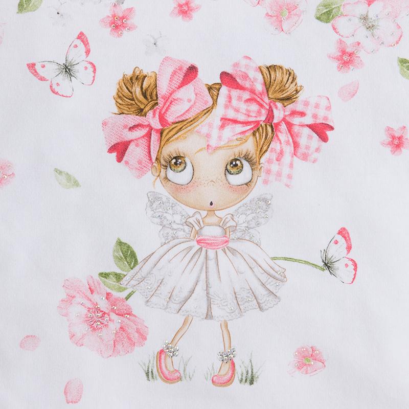 MAYORAL Tričko s dievčatkom, krátky rukáv