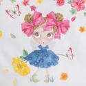 MAYORAL Tričko s dievčatkom Doll, krátky rukáv