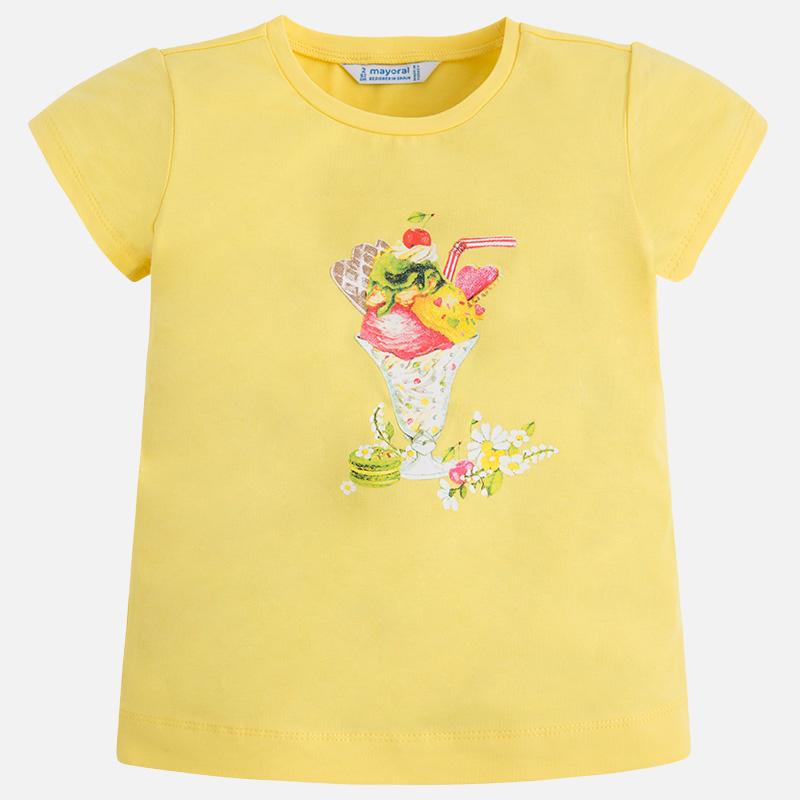 MAYORAL Tričko dievčenské Printed