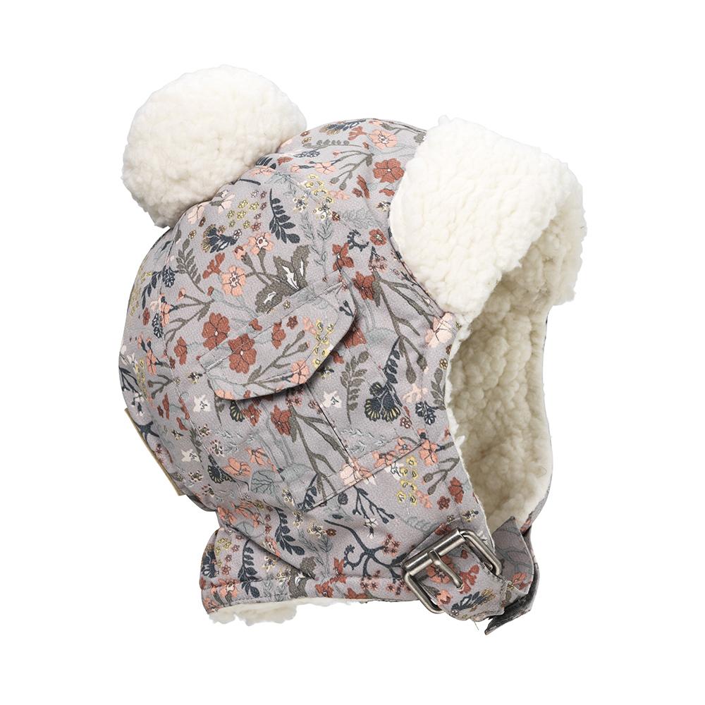 ELODIE DETAILS Čiapka zimná vintage flower 2-3r