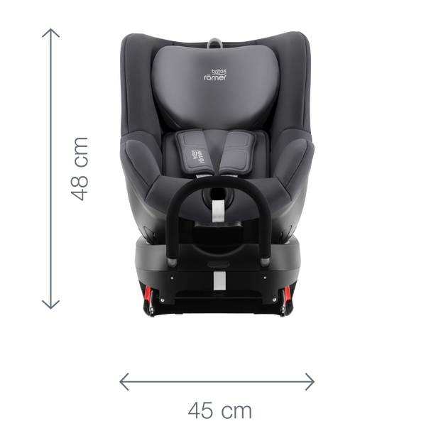 BRITAX-ROMER Dualfix 2 R autosedačka cosmos black