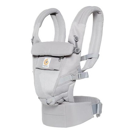 ERGOBABY Detský nosič ADAPT cool air mesh pearl grey