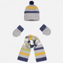 MAYORAL Set čiapka+šál+rukavice č. 6m