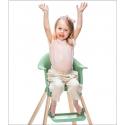STOKKE Clikk jedálenská stolička clover green