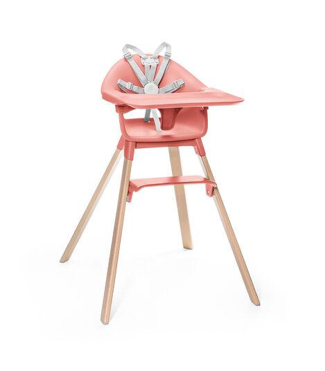 STOKKE Clikk jedálenská stolička sunny coral