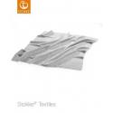 STOKKE Deka merino light grey 80x80cm