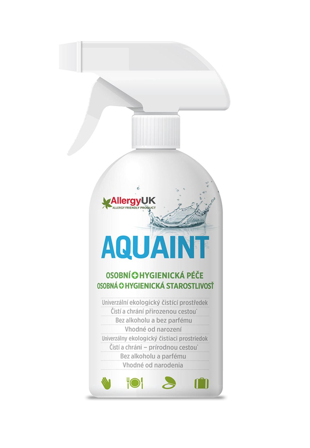 AQUAINT Čistiaca voda 100% EKO 500ml