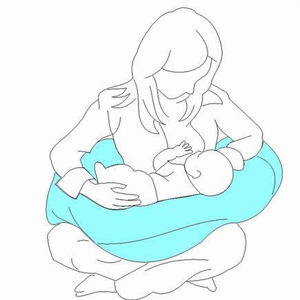 LITTLE ANGEL Poťah na vankúš na dojčenie paris