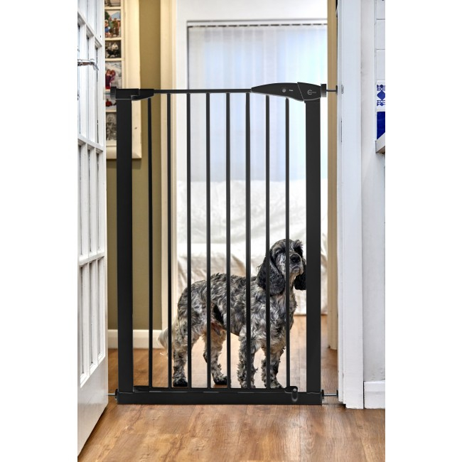 BABYDAN Zábrana Priemer PET GATE 73-86 cm čierna