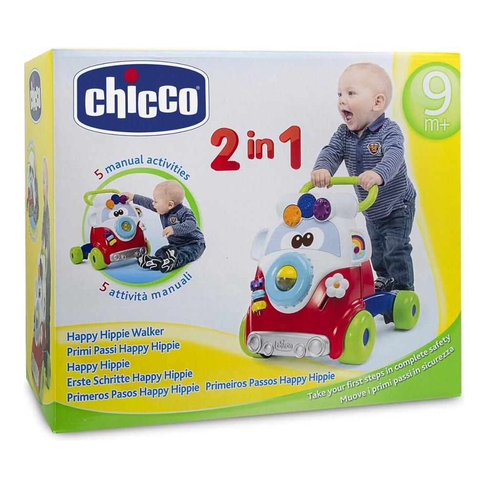 CHICCO Vozítko Happy Hippie walker