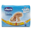 CHICCO Jednorázové plienky Dry Fit 3-6 kg