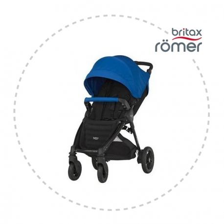 BRITAX-ROMER B-motion plus + strieška Ocean Blue Športový kočík