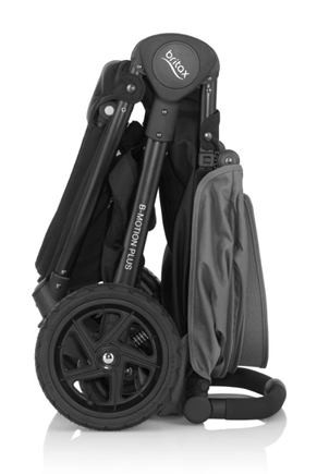 BRITAX-ROMER B-motion plus + strieška Cosmos Black Športový kočík