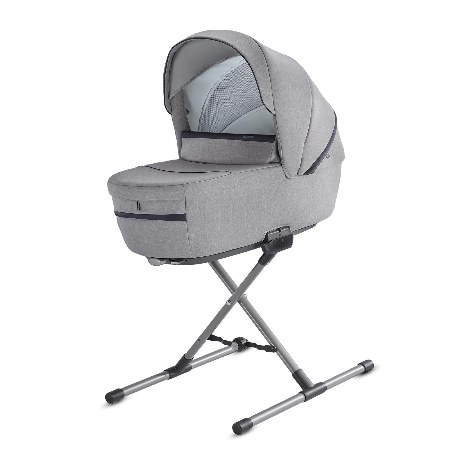 INGLESINA Aptica quattro 4v1 podvozok, hlboká vanička, športové sedadlo, autosedačka darwin silk grey