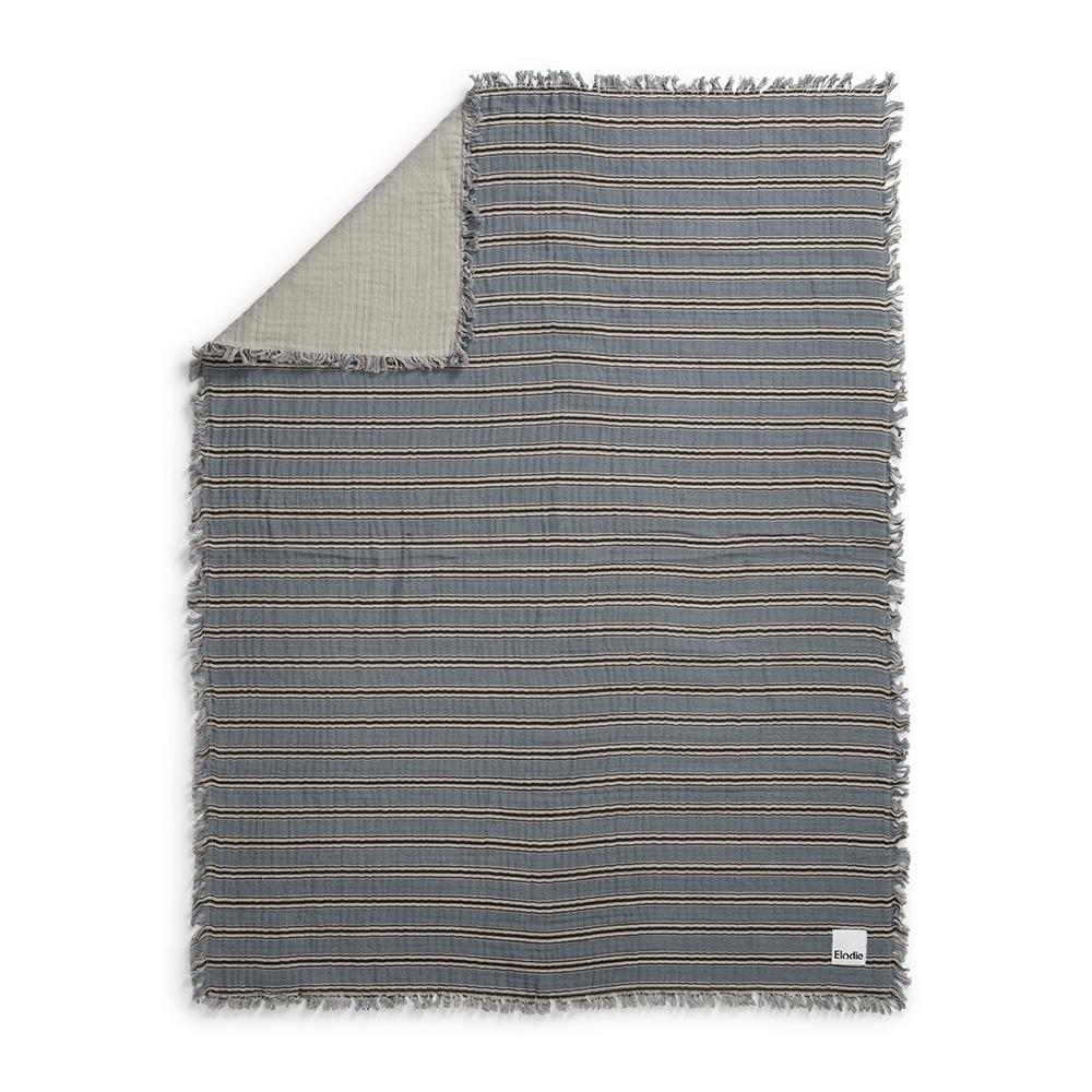 ELODIE DETAILS Deka bavlnená - soft cotton sandy stripe