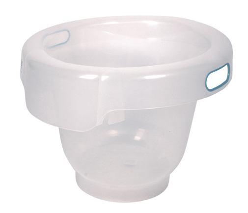 BÉBÉ JOU Vedierko kúpacie Bebe-Bubble transparentné