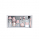 SUAVINEX Prémium novorodenecký set ružový