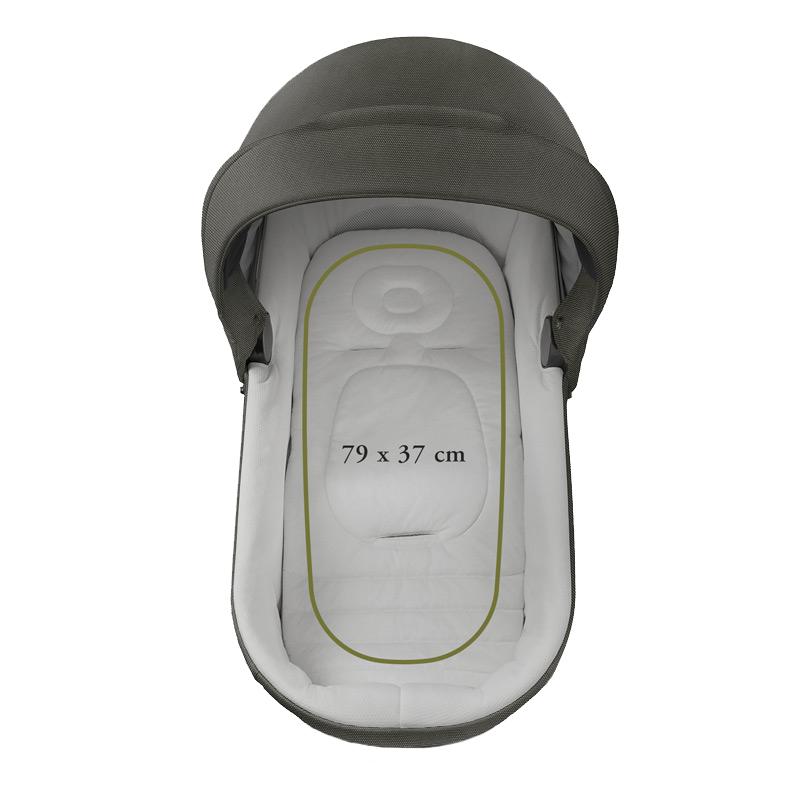 INGLESINA Aptica XT 3.kombinácia - Seqoia Green hlboká vanička, športová sedačka, autosedačka Darwin