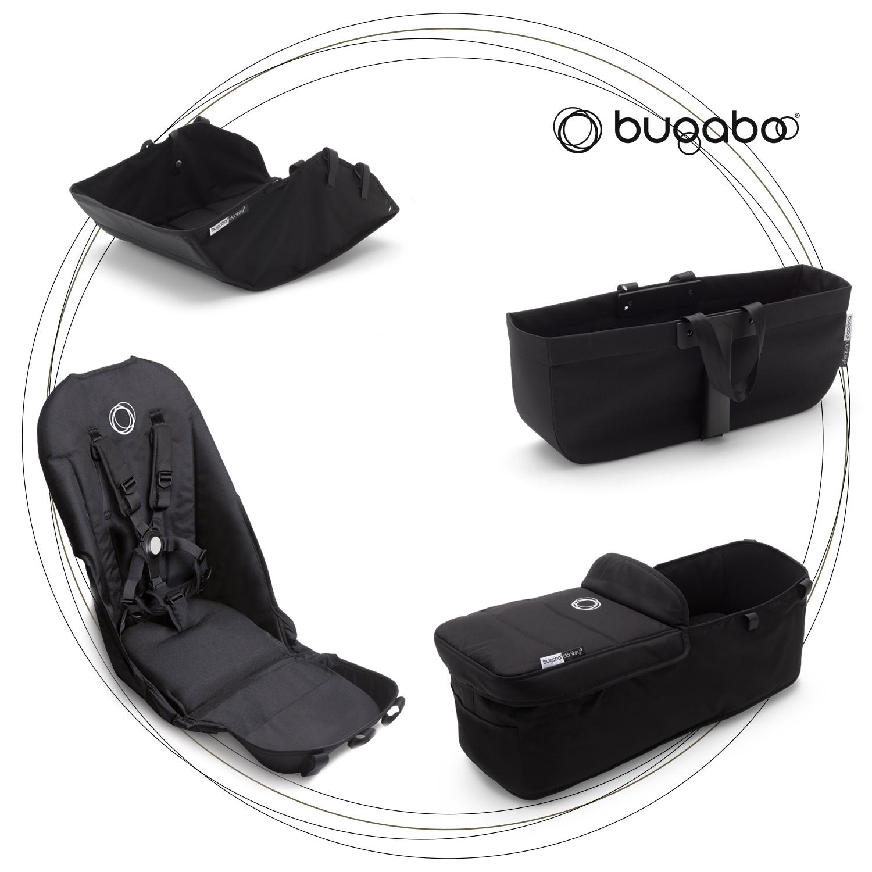 BUGABOO DONKEY 3 Style Set Black