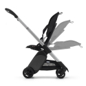 BUGABOO Ant Podvozok ALU poťah športového sedadla BLACK strieška BLACK