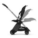 BUGABOO Ant Podvozok ALU poťah športového sedadla GREY MELANGE strieška GREY MELANGE