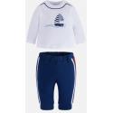 MAYORAL tepláky + tričko Azul sport 2-4m