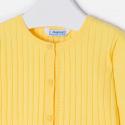 MAYORAL Svetrík dievčenský žltý č.110