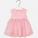 MAYORAL Šaty Tulle Rosa 12m