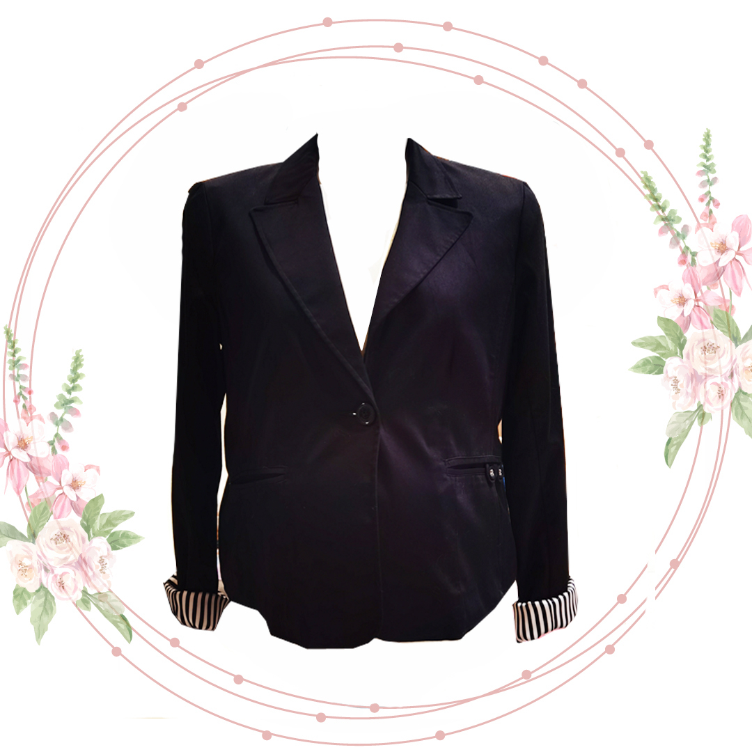 Esprit Elegantné čierne sako