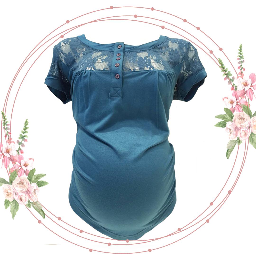 Esprit Tričko Modré