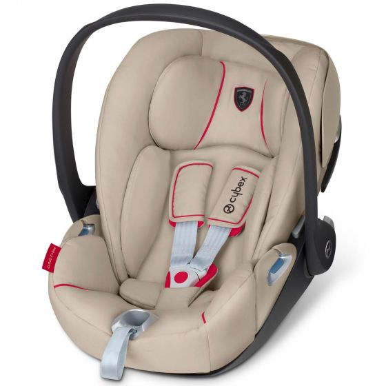Cybex CLOUD Z I-SIZE Ferrari New silver grey