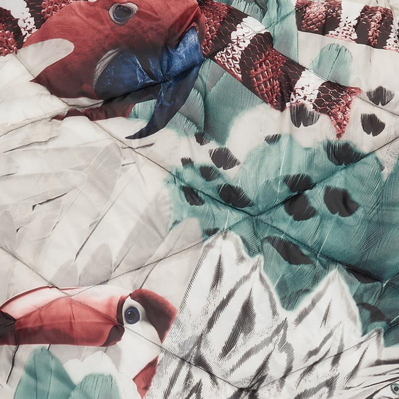 LODGER Mini Bunker Botanimal Parrot Feather