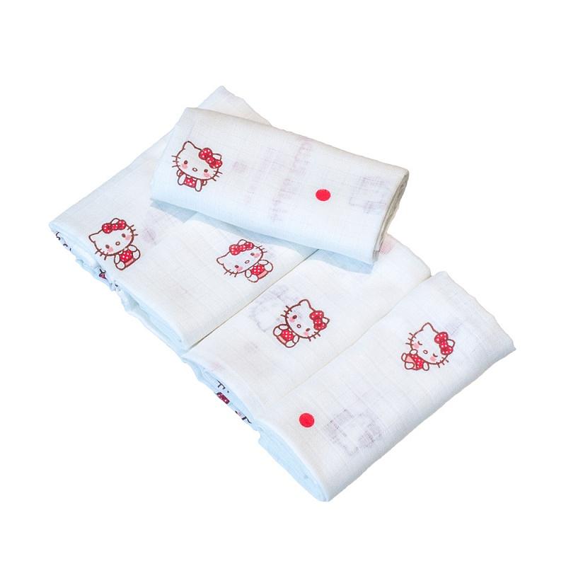 MATEJOVSKY Látkové Plienky Hello Kitty Premium 70x70 5ks