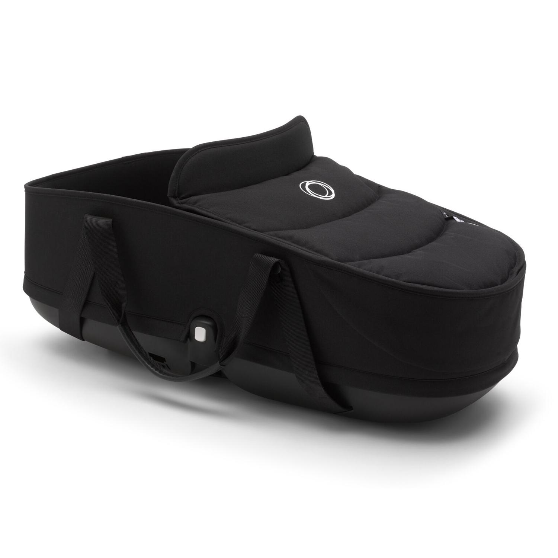 BUGABOO Bee 6 - 2 kombinácia podvozok BLACK, poťah športového sedadla BLACK, hlboká vanička BLACK, strieška BLACK