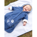 BUGGYSNUGGLE Spací vak BLUE BABY110