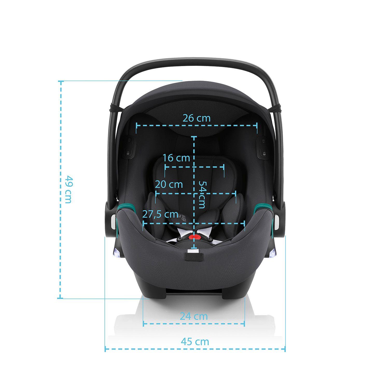 BRITAX-ROMER Baby-Safe iSense Bundle Flex iSense - Midnight Grey