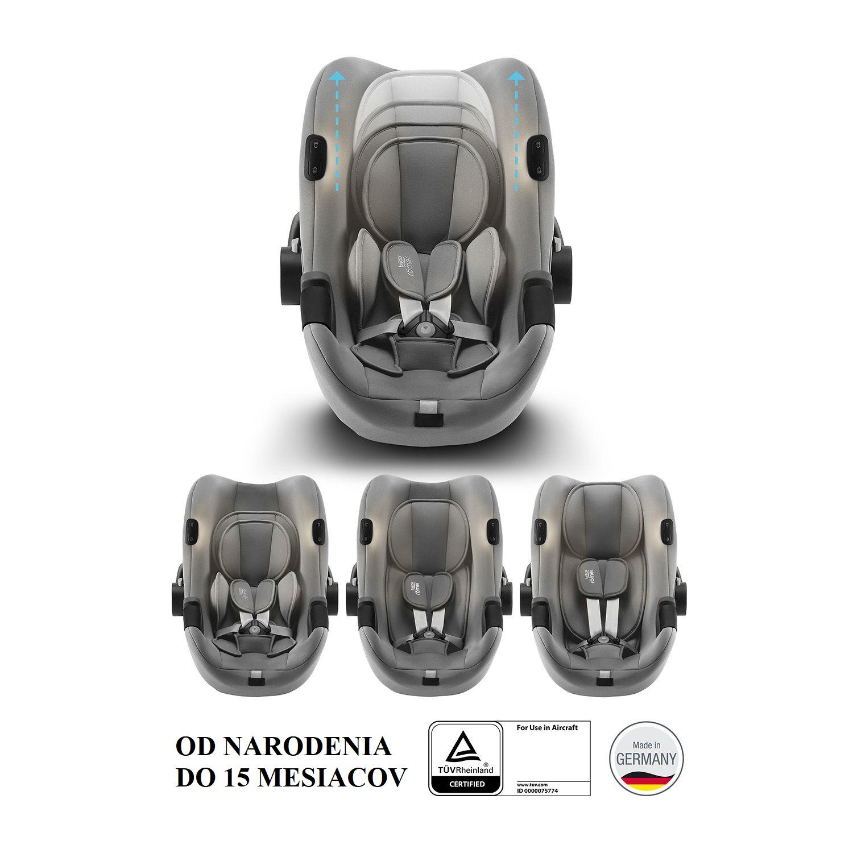 BRITAX-ROMER Baby-Safe iSense Bundle Flex iSense - Nordic Grey