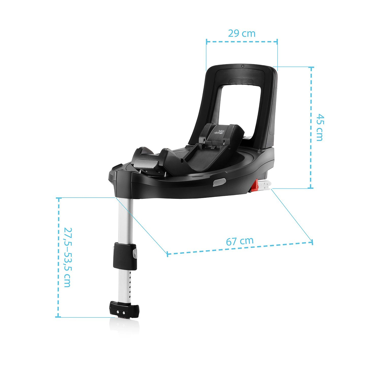 BRITAX-ROMER Baby-Safe 3 i-Size Bundle Flex iSense - Nordic Grey