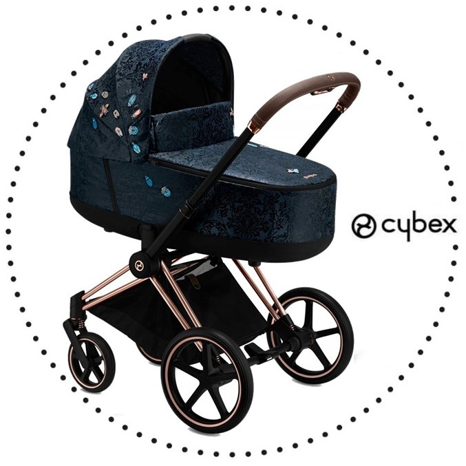CYBEX Priam Rose Gold hlboká vanička lux Jewels of Nature