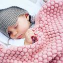 JOOLZ Fusak pletený medové plasty pink