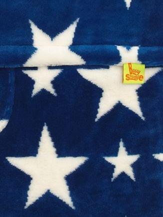BuggySnuggle Fusak Fur Sapphire / White Stars +darček