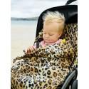 BuggySnuggle Fusak Textured Toggles Leopard Fleece